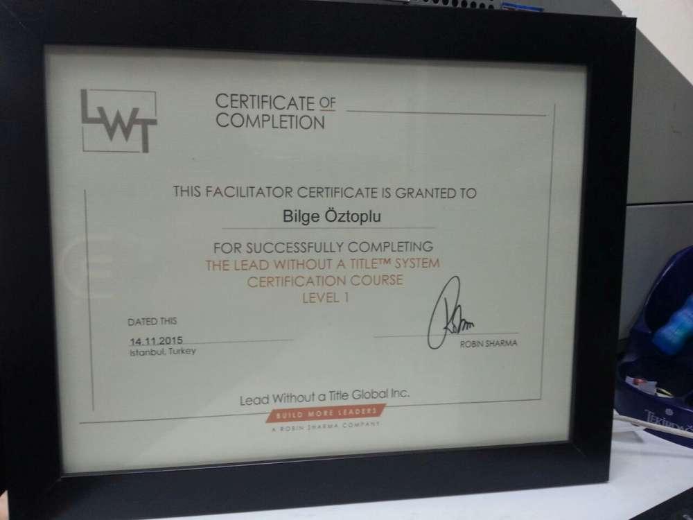 Robin Sharma-LWT Unvansız Lider Fasilitatörlük Eğitimi