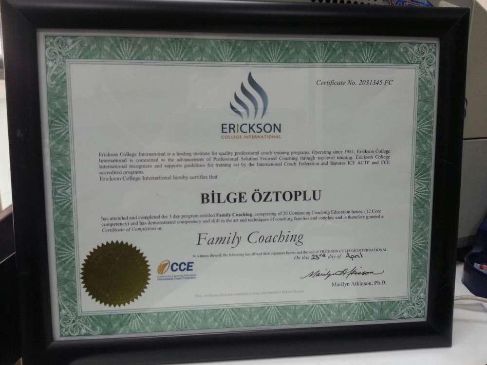 Erickson College International-İlişkiler Koçluğu Eğitimi