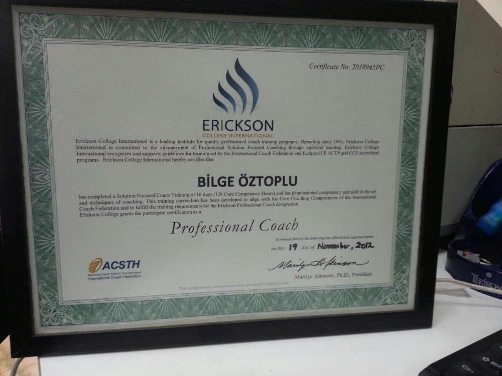 Erickson College International-Profesyonel Koçluk Eğitimi